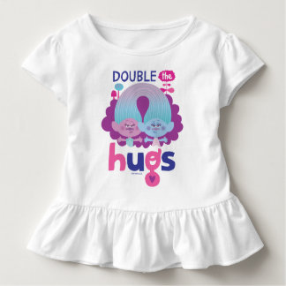 Trolls | Satin & Chenille - Double the Hugs Toddler T-shirt