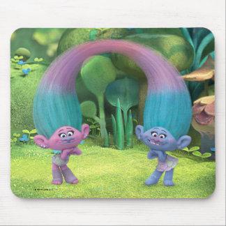 Trolls | Satin & Chenille Mouse Pad