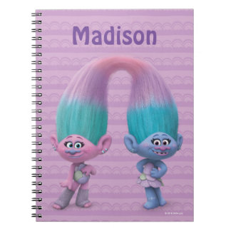 Trolls | Satin & Chenille Notebook