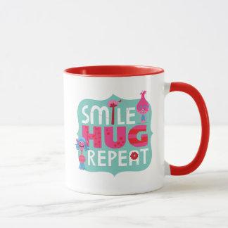 Trolls | Smile, Hug, Repeat Mug