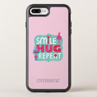 Trolls | Smile, Hug, Repeat OtterBox Symmetry iPhone 8 Plus/7 Plus Case