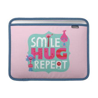 Trolls | Smile, Hug, Repeat Sleeve For MacBook Air