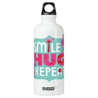 Trolls | Smile, Hug, Repeat Water Bottle