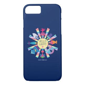 Trolls | Snack Pack Rainbow Sun iPhone 8/7 Case