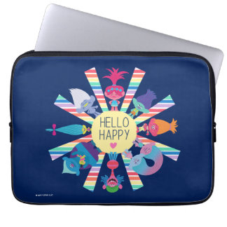 Trolls | Snack Pack Rainbow Sun Laptop Sleeve