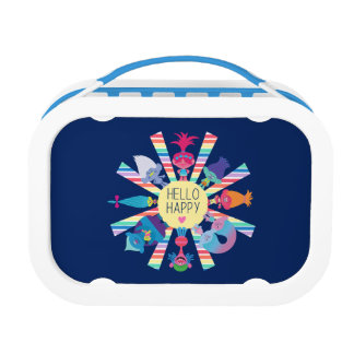 Trolls | Snack Pack Rainbow Sun Lunch Boxes