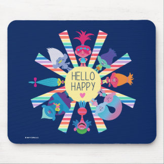 Trolls | Snack Pack Rainbow Sun Mouse Pad