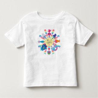 Trolls   Snack Pack Rainbow Sun Toddler T-shirt