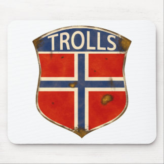 Trolls Stuff Mouse Pad