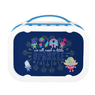 Trolls | The Snack Pack Sparkles Lunch Box
