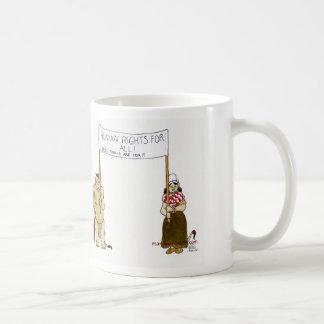 Trolls' traveled humane Rights Classic White Coffee Mug