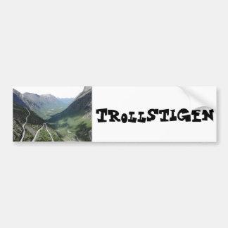 Trollstigen Bumper Sticker
