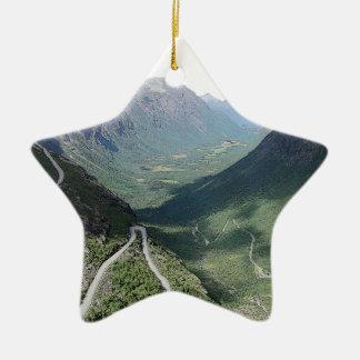 Trollstigen Ceramic Ornament