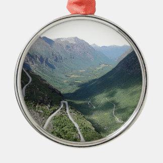 Trollstigen Metal Ornament