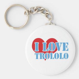 Trololo Basic Round Button Keychain