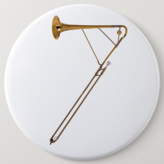 Trombone 7 6 inch round button