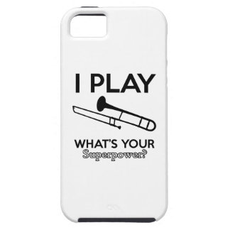 trombone designs iPhone 5 covers