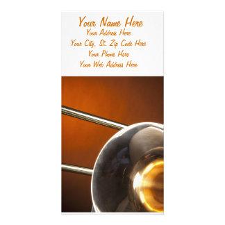 Trombone Image Card