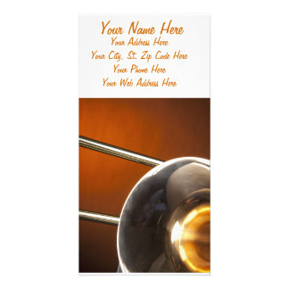 Trombone Image Picture Card