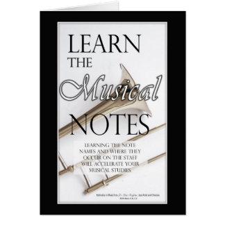 Trombone Musical Notes