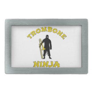 Trombone Ninja Belt Buckles