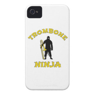 Trombone Ninja iPhone 4 Covers