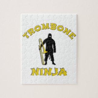 Trombone Ninja Jigsaw Puzzle