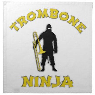 Trombone Ninja Napkin