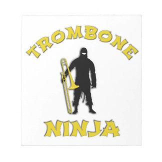 Trombone Ninja Notepad