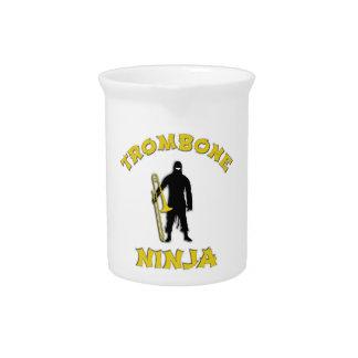 Trombone Ninja Pitcher