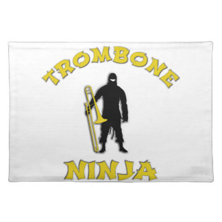 Trombone Ninja Placemat
