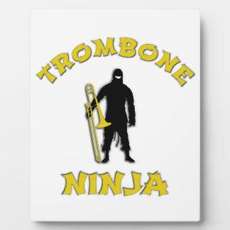 Trombone Ninja Plaque