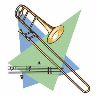 trombone acrylic cut out