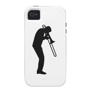 Trombone Player Case For The iPhone 4