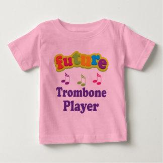 Trombone Player (Future) Baby T-Shirt