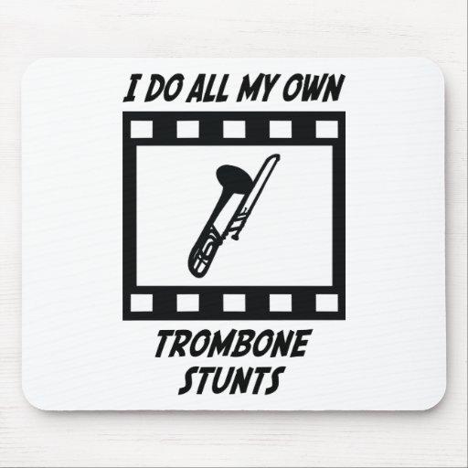 Trombone Stunts Mouse Mat