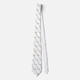 Trombone Tie (white)