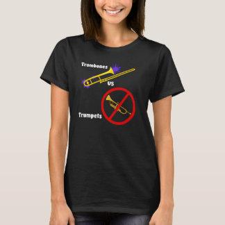 Trombone v Trumpet (girl) T-Shirt