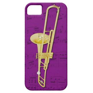 Trombone (valve) phone case. Pick colour Case For The iPhone 5