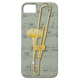 Trombone (valve) phone case. Pick colour iPhone 5 Cover