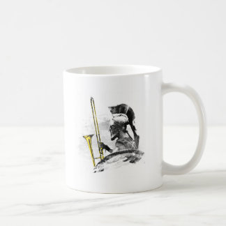 Trombone Warrior Coffee Mug