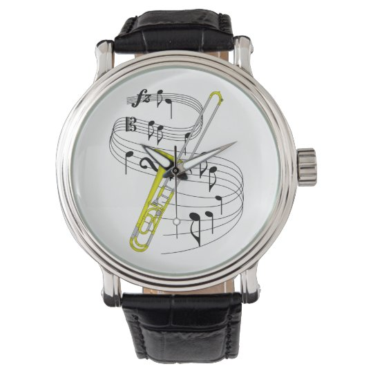 Trombone! Wristwatch