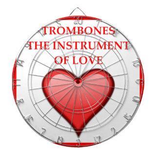 TROMBONES DARTBOARD