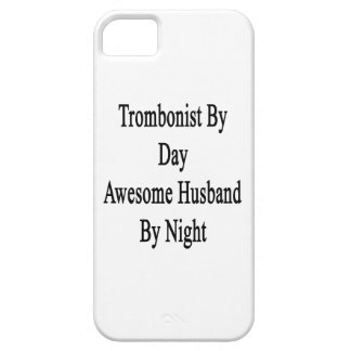 Trombonist By Day Awesome Husband By Night iPhone 5 Cover
