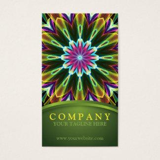 Trompet Flower mandala Business Card