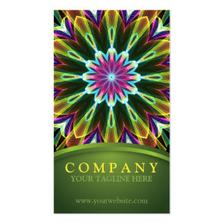 Trompet Flower mandala Pack Of Standard Business Cards