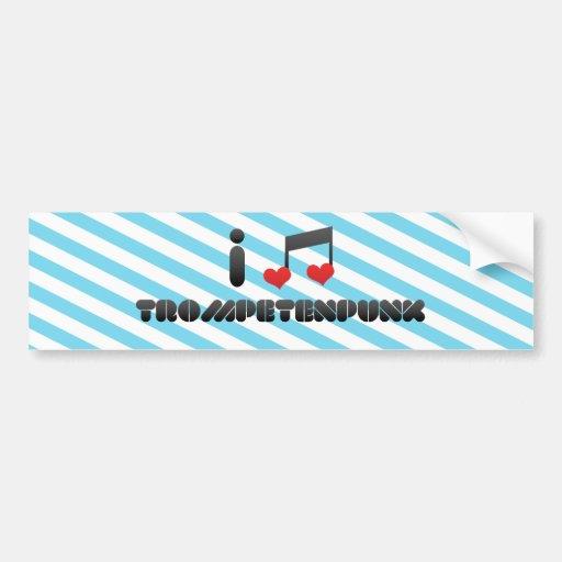 Trompetenpunk fan bumper sticker