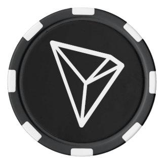 TRON TRX Logo Poker Chips
