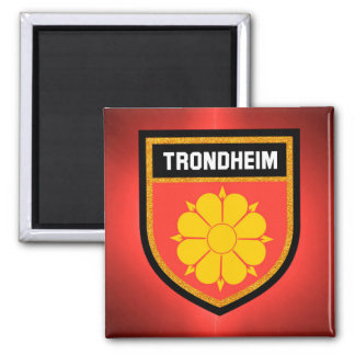 Trondheim  Flag Magnet