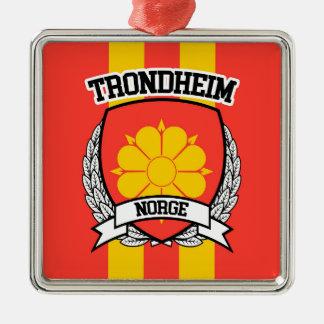 Trondheim Metal Ornament